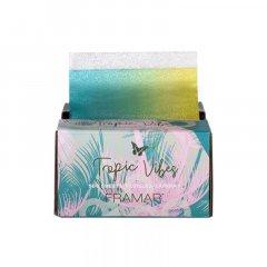 Framar PU-500TV Tropic Vibes Pop Up Foil 13x28 - farebný alobal, 500 ks