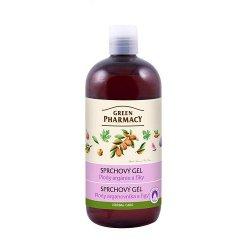 Green Pharmacy plody arganovníka a fíky - sprchový gel, 500ml