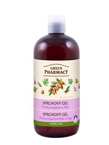 Green Pharmacy plody arganovníka a figy - sprchový gél, 500ml