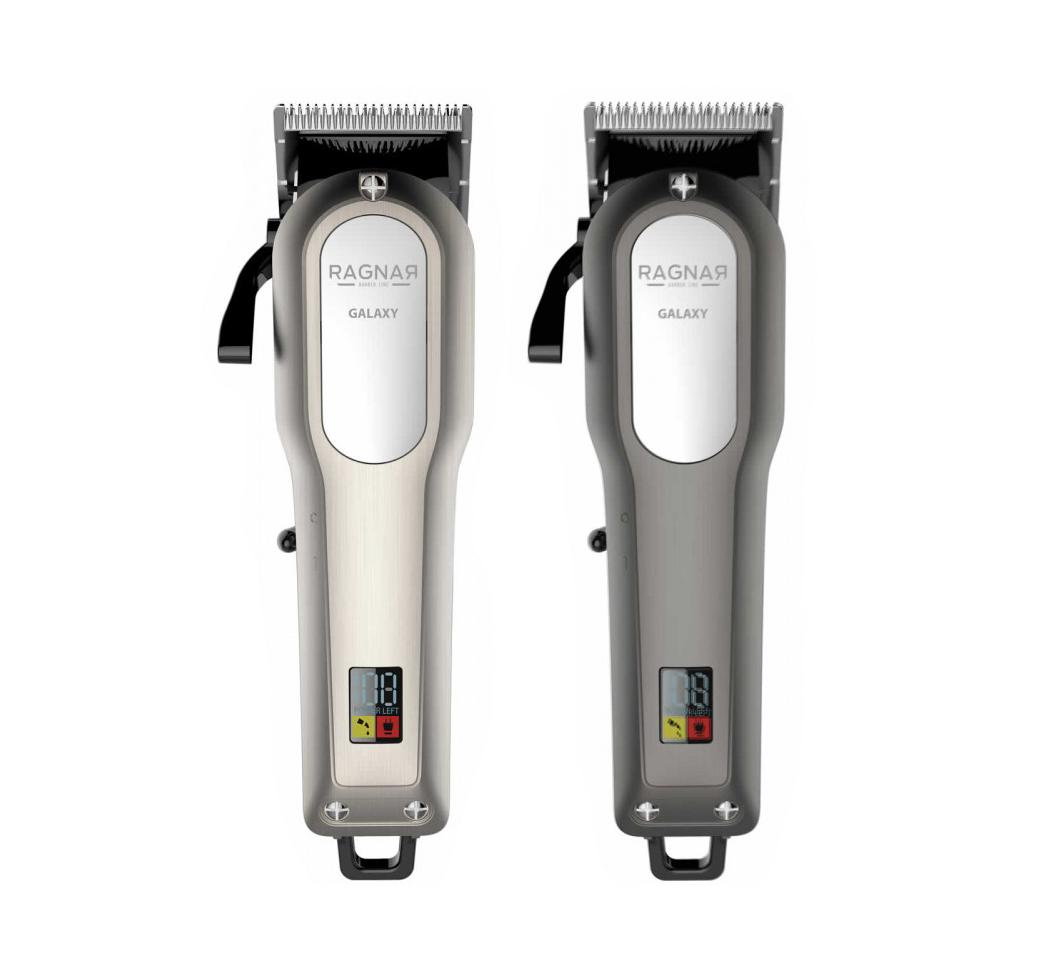 Ragnar - Hair Clipper Galaxy - akumulátorový stříhací strojek s LCD displayem + Gembird - stlačený vzduch, 400 ml