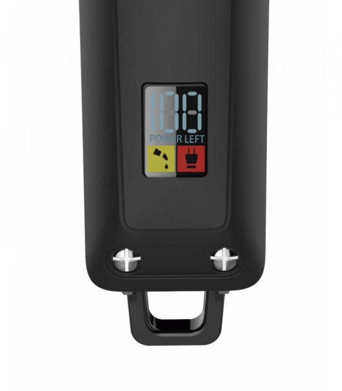 RAGNAR - Hair Clipper Galaxy - akumulátorový strihací strojček s LCD displayom + Gembird - stlačený vzduch, 400 ml