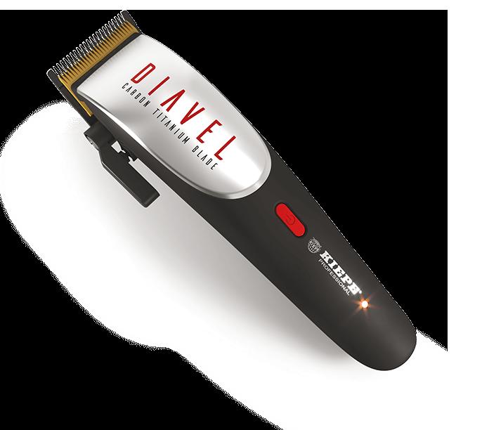 Kiepe Hair Clipper Diavel 6336 - akumulátorový stříhací strojek + Gembird - stlačený vzduch, 400 ml