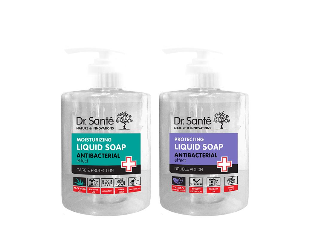 Dr. Santé Liquid Soap Antibacterial - tekuté mydlo s antibakteriálnym účinkom, 500 ml