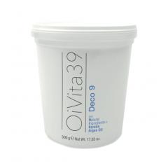Oivita39 DECO 9 DUST FREE - šedý bezprašný odbarvovací a zesvětlovací systém s argan. olejem a keratinem