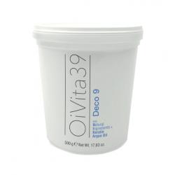 Oivita39 DECO 9 DUST FREE - šedý bezprašný odfarbovací a zosvetľovací systém s argán. olejom a keratínom