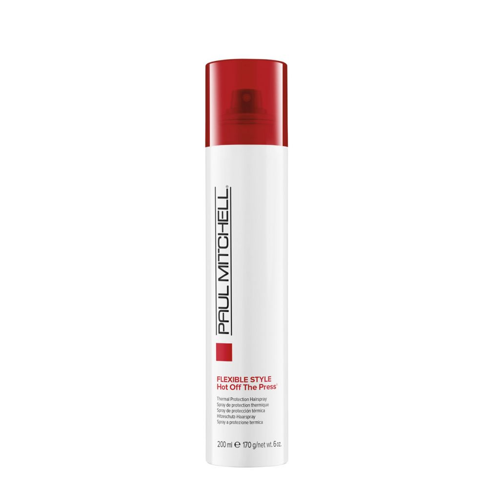 Paul Mitchell Flexible Style Hot Off The Press - sprej s tepelnou ochranou, 200 ml