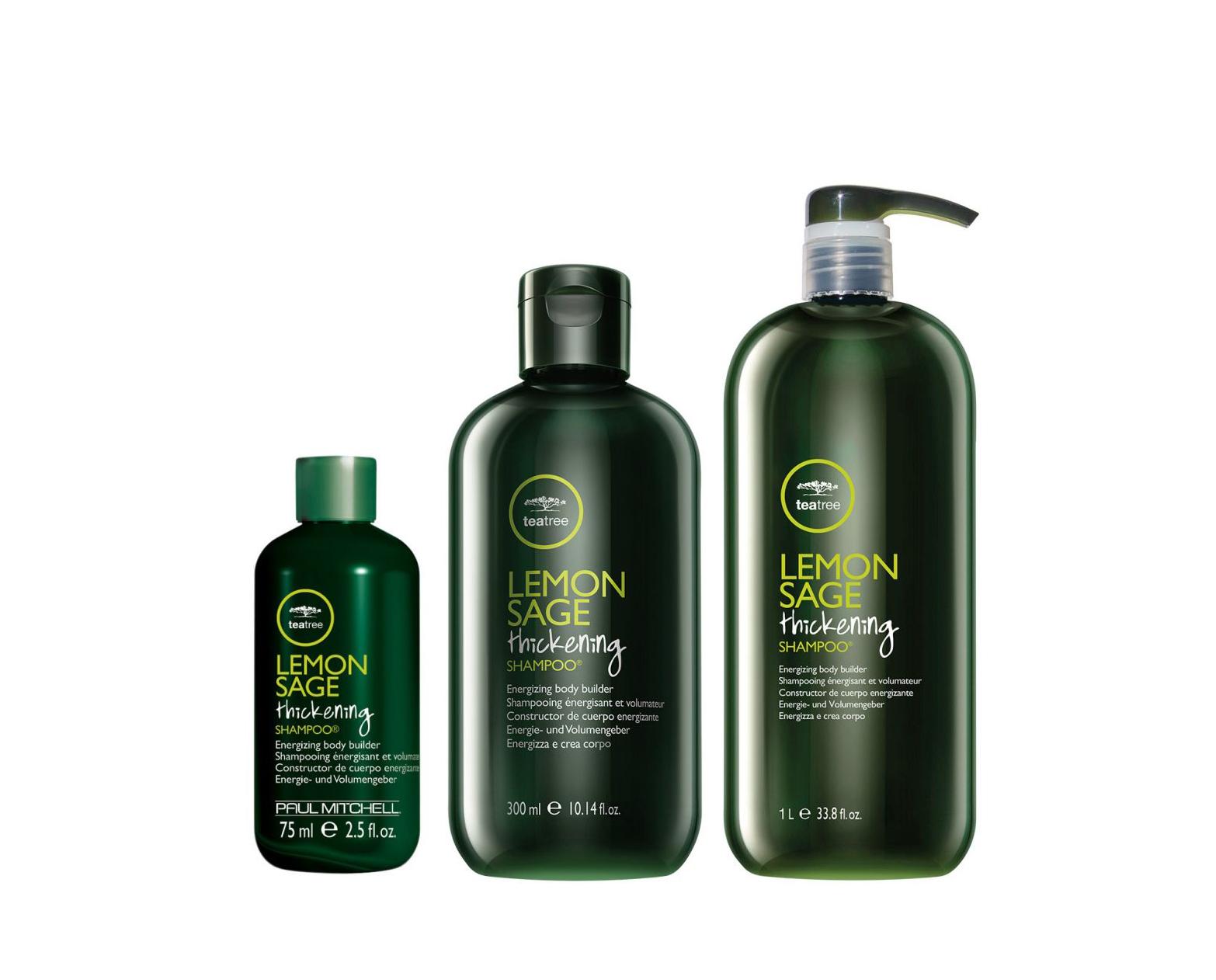 Paul Mitchell Lemon Sage Thickening Shampoo - objemový šampon