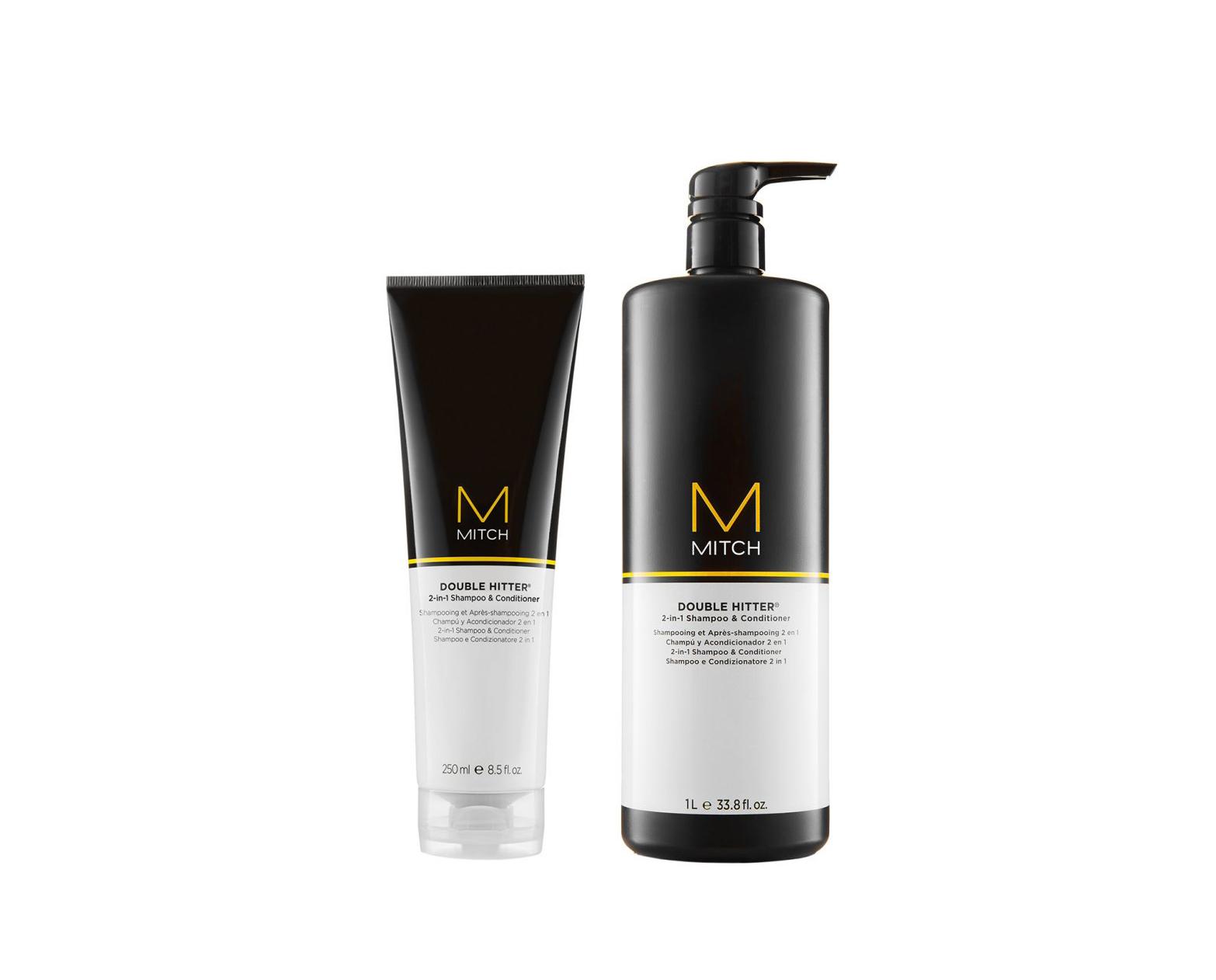 Paul Mitchell MITCH Double Hitter 2 in 1 - ošetrujúci šampón a starostlivosť pre mužov