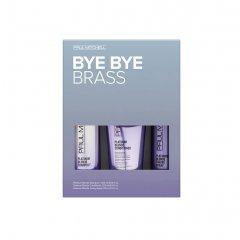 Paul Mitchell Platinum Blonde Bye Bye Brass Kit - sada pre blond a šedivé vlasy