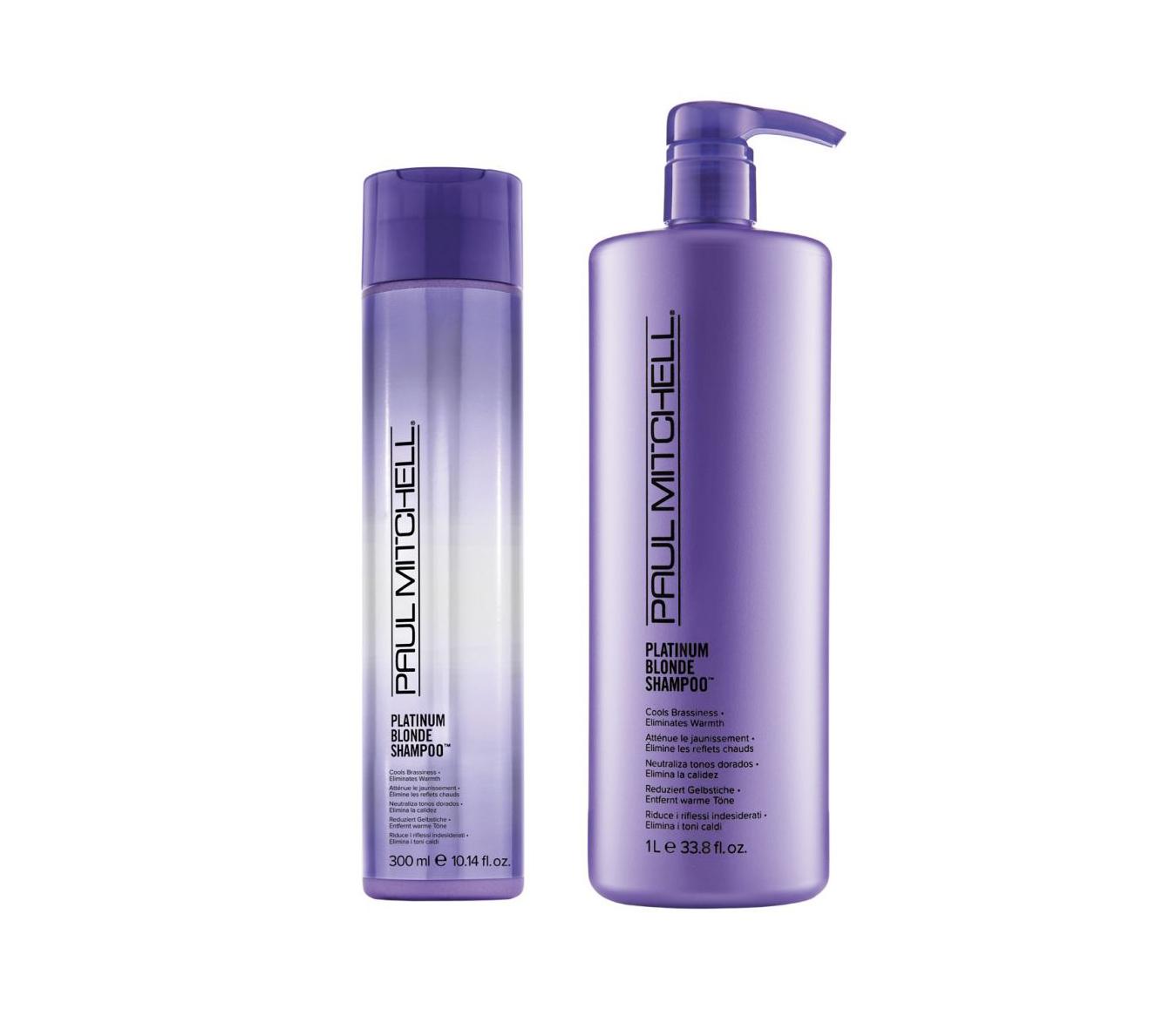 Paul Mitchell Platinum Blonde Shampoo - šampón pre blond a šedivé vlasy