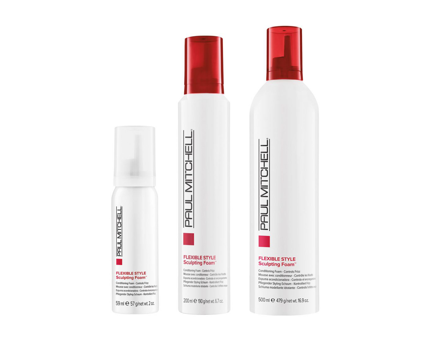 Paul Mitchell Flexible Style - Sculpting Foam - ošetrujúce stylingová pena