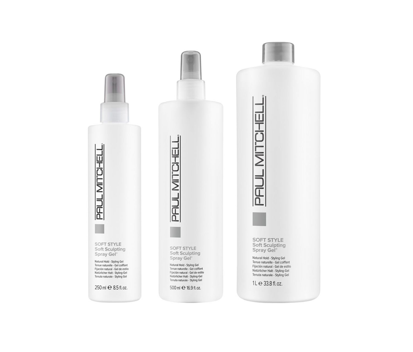 Paul Mitchell Soft Sculpting Spray Gel - ultraľahký pružný gél