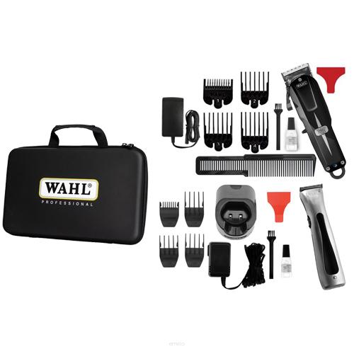 WAHL Combo Cordless 08592-016H LIMITED - profi súprava v plastovom kufríku + Gembird - stlačený vzduch, 400 ml