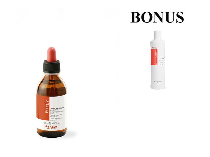 AKCIA: Fanola ENERGY - tonikum proti vypadávaniu vlasov, 125 ml + Energy šampón, 350 ml