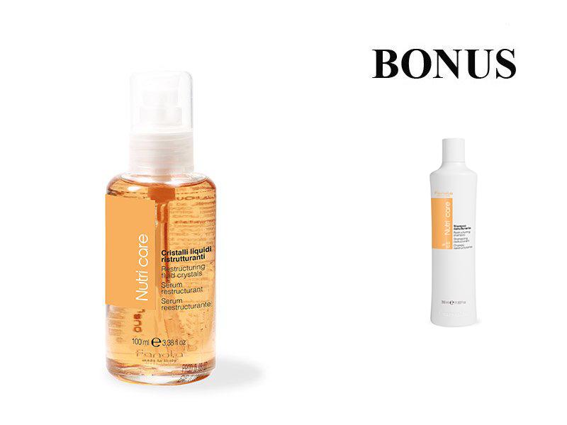 AKCIA: Fanola Nutri Care - výživné sérum, 100 ml + Fanola Nutri Care šampón, 350 ml