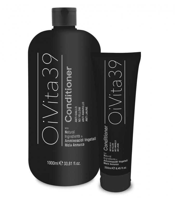OiVita 39 Antigiallo Conditioner - kondicionér na šedivé, zosvetlené a odfarbované vlasy