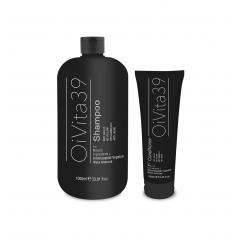 AKCIA: OiVita 39 Antigiallo Shampoo - šampón na šedivé, zosvetlené a odfarbované vlasy, 1000 ml + OiVita 39 Antigiallo Conditioner, 250 ml