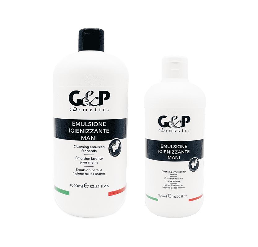 G&P prípravok na dezinfekciu rúk s obsahom peroxidu