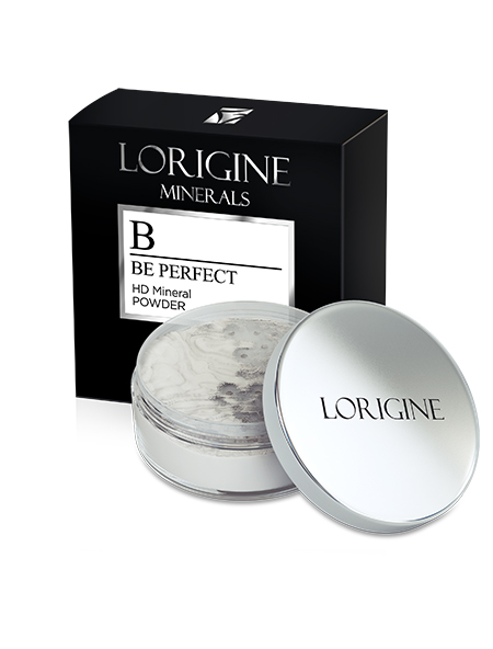 Lorigine Be Perfect HD Mineral Powder - matný púder