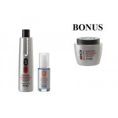 AKCIA: Echosline S1 - šampón na farbené vlasy, 350 ml a Echosline F1-2 Fluid Crystal - tekuté kryštály, 60 ml + Echosline M1 - maska na farbené vlasy, 500 ml
