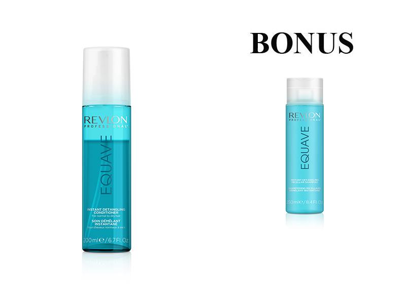 AKCIA: Revlon EQUAVE - 2 - fázový kondicionér na vlasy, 200 ml + Revlon EQUAVE - micelárny šampón, 250 ml