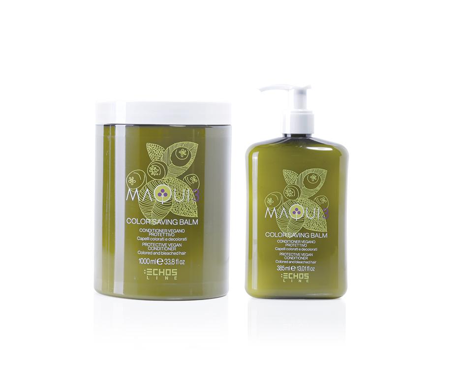 Echosline Maqui 3 Color Saving Balzám - ochranný kondicionér pro barvené vlasy