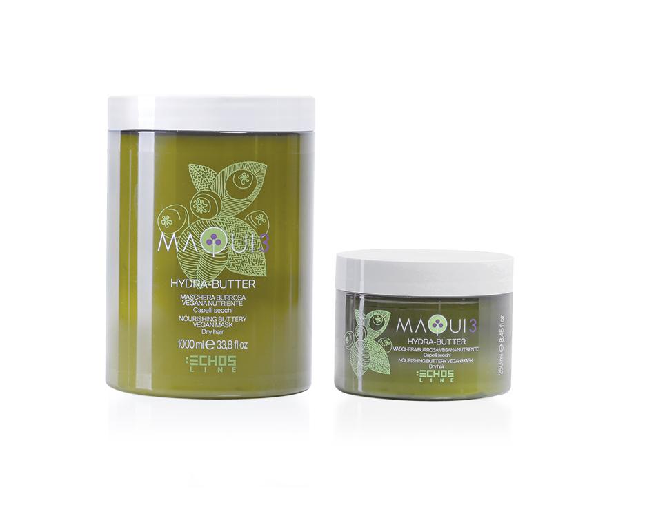Echosline Maqui 3 Hydra-butter - hutná vyživující maska pro suché vlasy