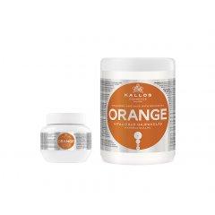 Kalos kjmn ORANGE - vyživující hydratační maska na vlasy