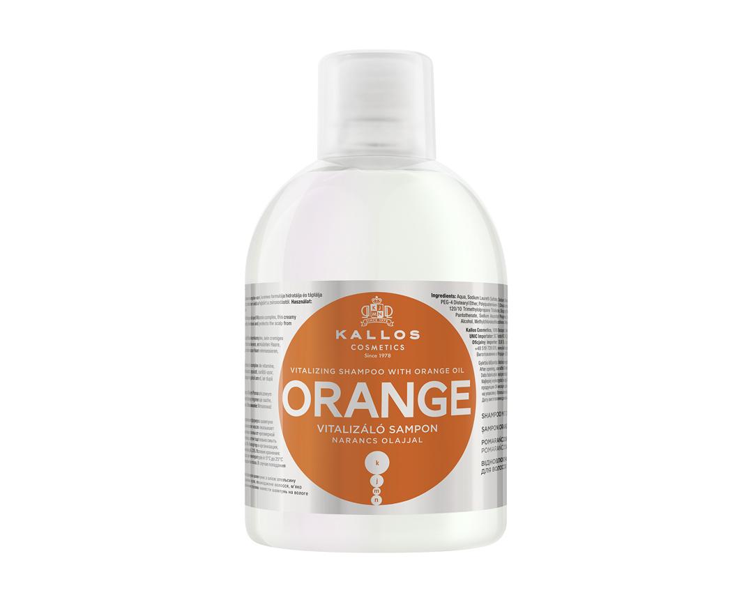 Kalos kjmn ORANGE - vyživujúco-hydratačný šampón, 1000 ml