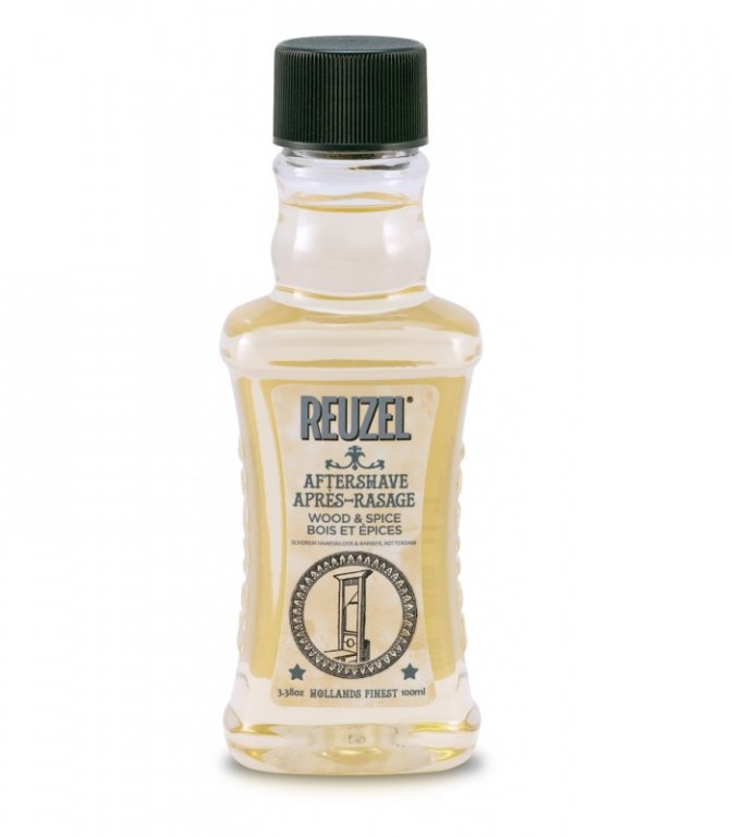 REUZEL Aftershave Wood&Spice - voda po holení, 100 ml