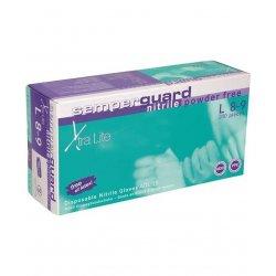 SemperGuard nitril powder free Xtra lite - tenšie bezpúdrové nitrilové rukavice, 100 ks/bal