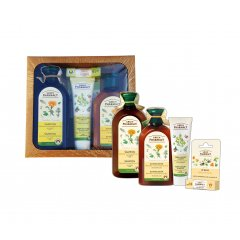 Green Pharmacy Nechtík a Rozmarínový olej - balíček na mastné vlasy