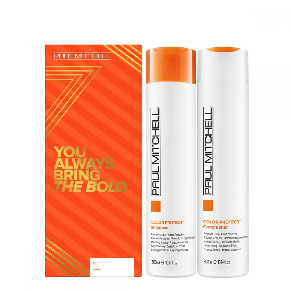 Paul Mitchell Color Protect Duo - šampon pro barvené vlasy, 300ml + kondicionér pro barvené vlasy, 300ml