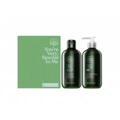Paul Mitchell Tea Tree Cleaning Duo - osvěžující šampon, 300ml + osvěžující mýdlo na ruce, 300ml