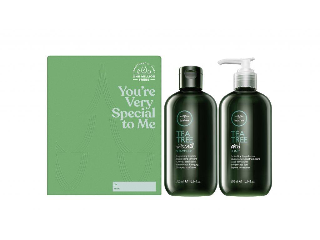 Paul Mitchell Tea Tree Cleaning Duo - osviežujúci šampón, 300ml + osviežujúce mydlo na ruky, 300ml
