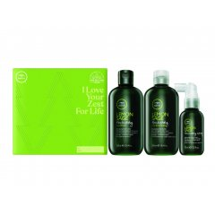 Paul Mitchell Tea Tree Volumizing Trio - objemový šampon, 300ml + objemový kondicionér, 300ml + bezoplachový objemový kondicionér ve spreji, 75ml