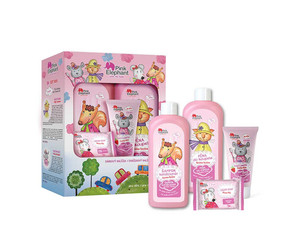 Pink Elephant - darčekový balíček pre dievčatá