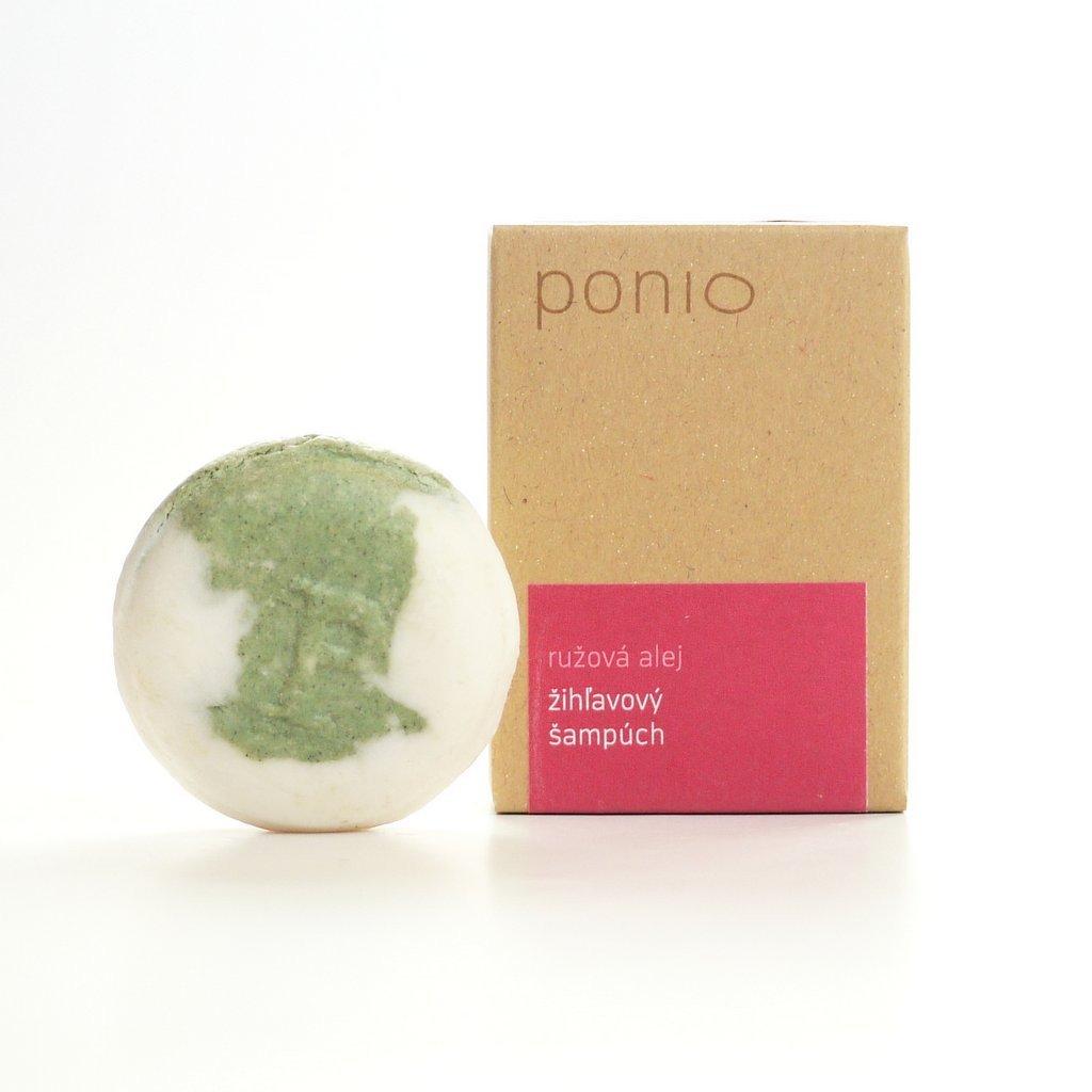Ponio Ružová alej - žihľavový šampúch
