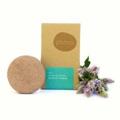 Ponio Mint - šampúch pre obnovu a ochranu vlasov