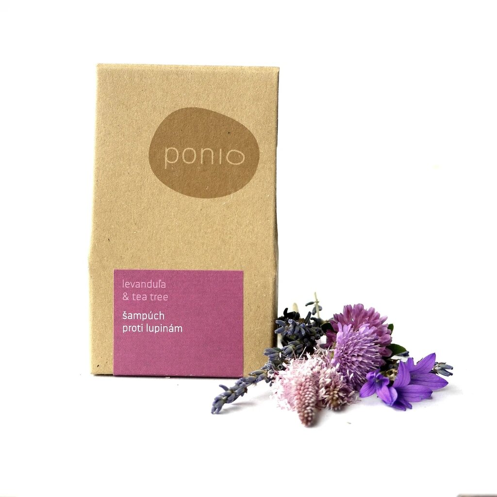 Ponio Levanduľa & tea tree - šampúch proti lupinám