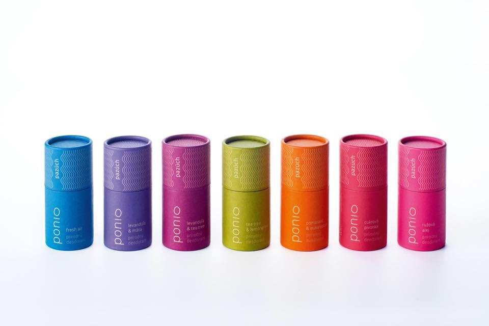Ponio prírodný deodorant, 60 g