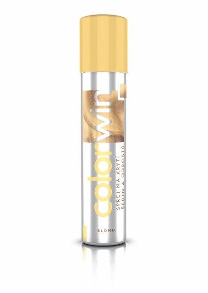 (EXP: 07/2020) Colorwin - sprej na krytí šedin a odrostů - blond, 75 ml