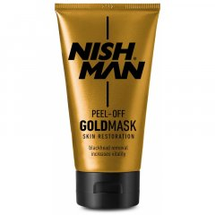Nishman Gold Mask - hluboce čistící pleťová maska, 150 ml