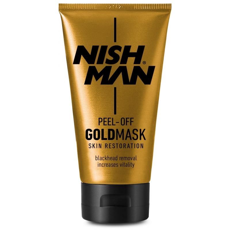 Nishman Gold Mask - hĺbkovo čistiaca pleťová maska, 150 ml