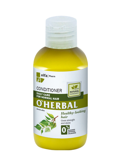 (EXP: 01/2021) O´HERBAL Daily Care Normal - kondicionér pro každodenní péči, 75 ml
