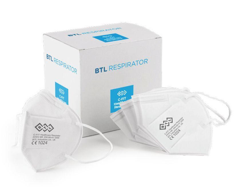 BTL Healthcare lekársky Respirátor FFP2