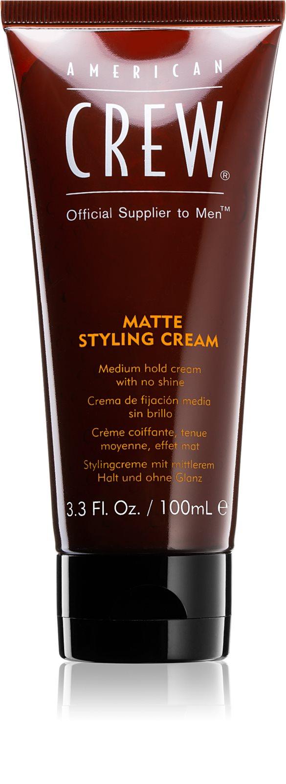 American Crew Styling Matte Styling Cream - stredne tužiaci gél s matným vzhľadom, 100 ml