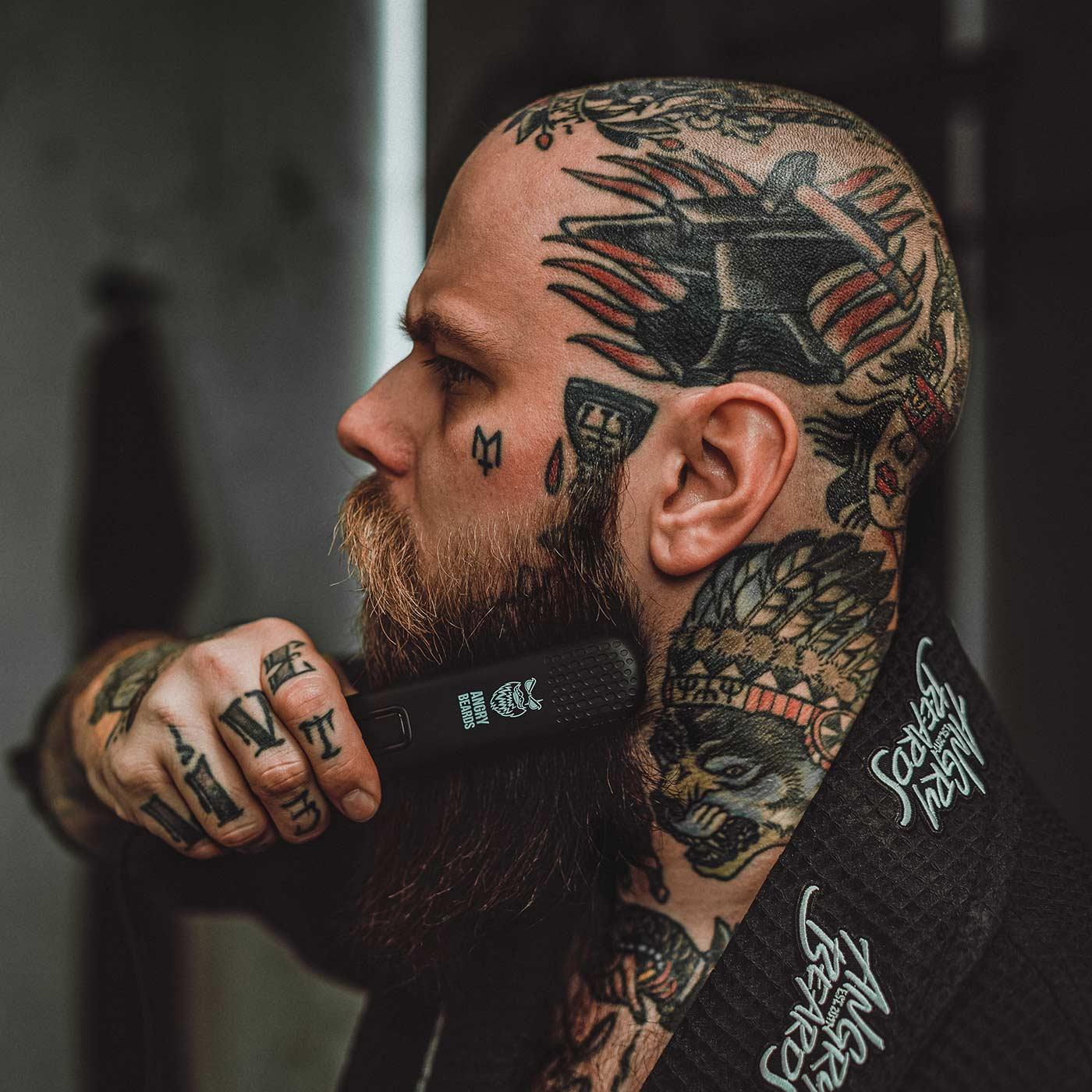 Angry Beards Beard Straightener - žehlička na bradu