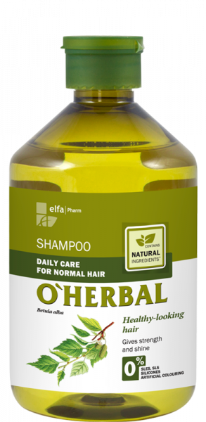 (EXP: 02/2021) ​O'HERBAL Daily Care Normal - šampon pro každodenní péči
