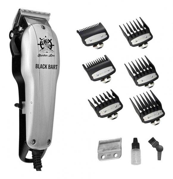 POUŽITÉ: BarberLine 06333 BART BLACK - síťový stříhací strojek